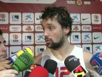 Sergio Llull, jugador de la selección de baloncesto