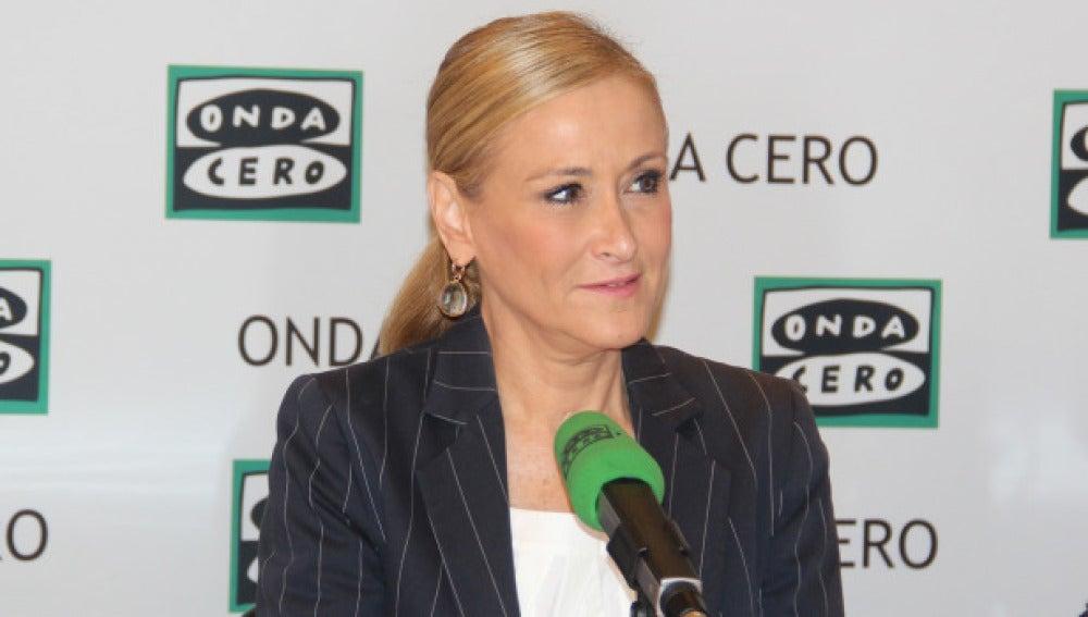 Cristina Cifuentes en Onda Cero.