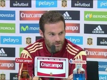 "Frame 24.501852 de: Juan Mata: ""Veo a De Gea como siempre, tranquilo"""