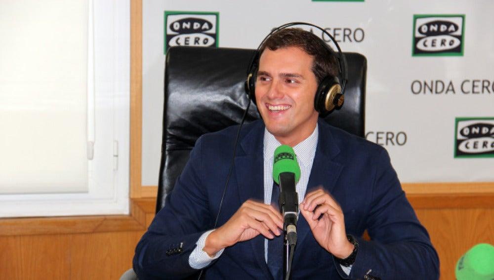 El líder de Ciudadanos, Albert Rivera, en Onda Cero