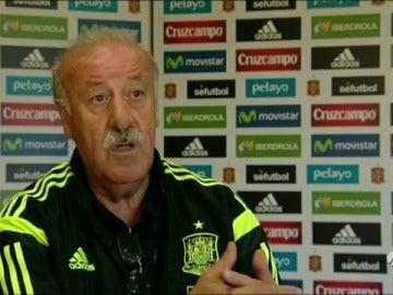 """Frame 27.852984 de: Del Bosque: """"Hemos estado a punto de traer a Víctor Valdés"""""""