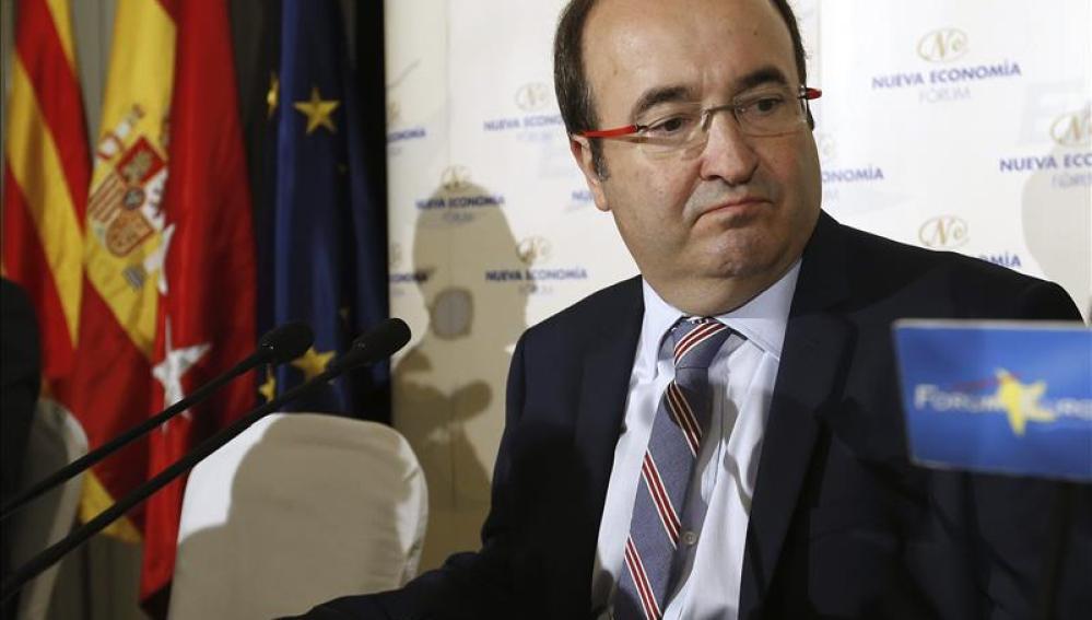 Miquel Iceta, candidato a la presidencia de la Generalitat