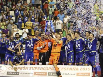El Inter Movistar, campeón de la Supercopa de España