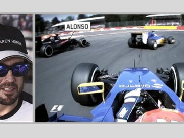 Alonso analiza su salida en Bélgica