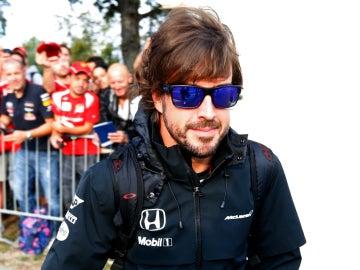 Alonso anda por Monza