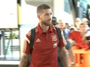 La Selección llega a Macedonia
