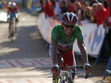 El ciclista español del equipo katusha