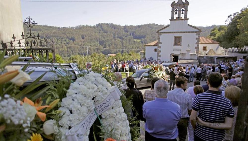 Funeral por las víctimas del rally de A Coruña.