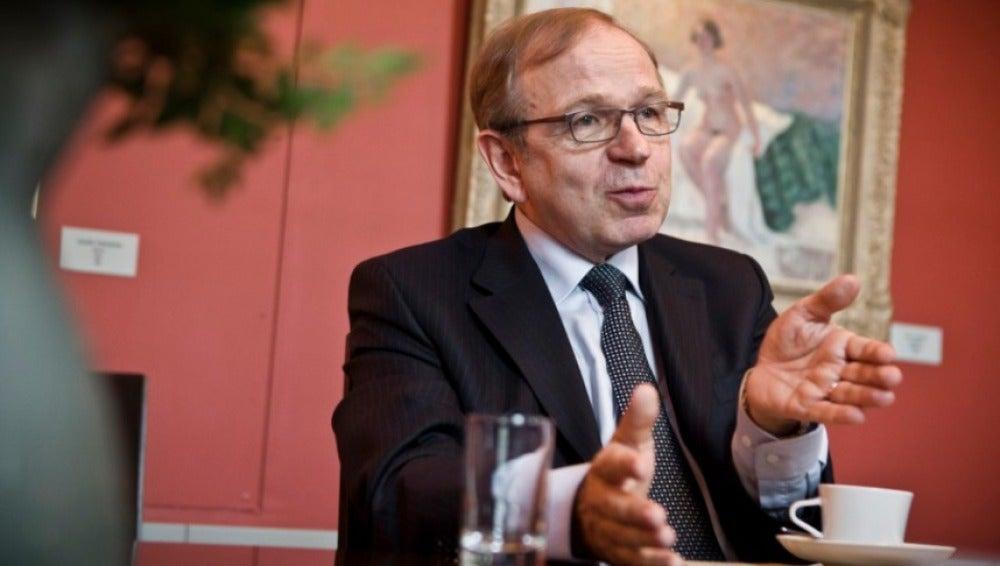 El gobernador del Banco de Finlandia, Erkki Liikanen.