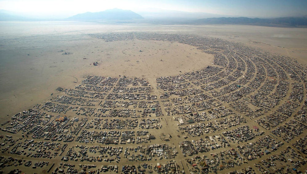 El festival 'Burning Man' en Nevada