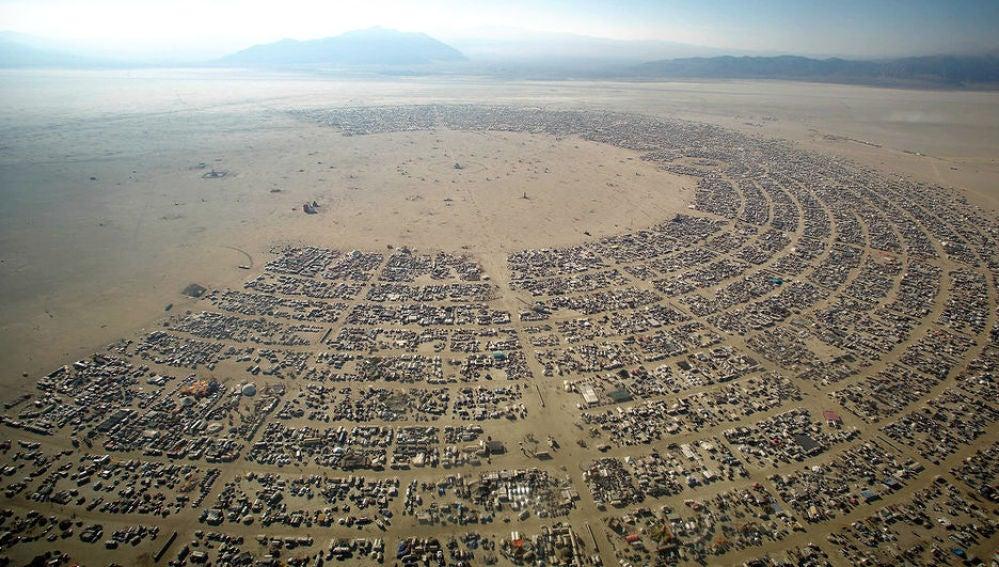 El festival 'Burning Man' en Nevada