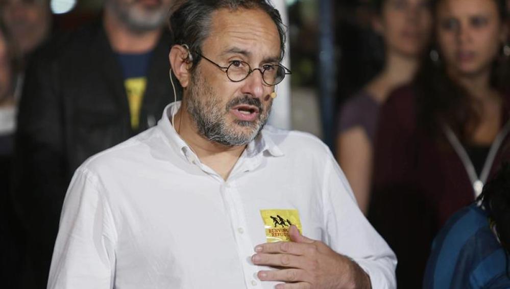 El candidato a la Generalitat por la CUP, Antonio Baños