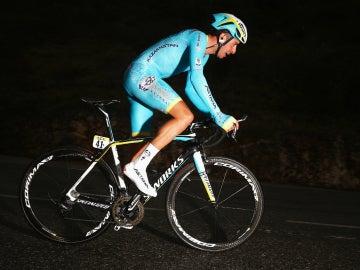 Fabio Aru, con el Astana