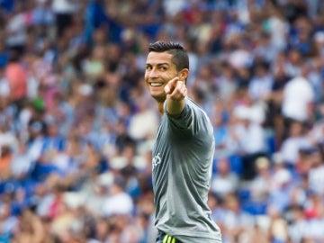 Cristiano Ronaldo marca cinco goles al Espanyol