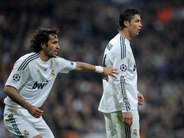Raúl y Cristiano Ronaldo, historia del Real Madrid