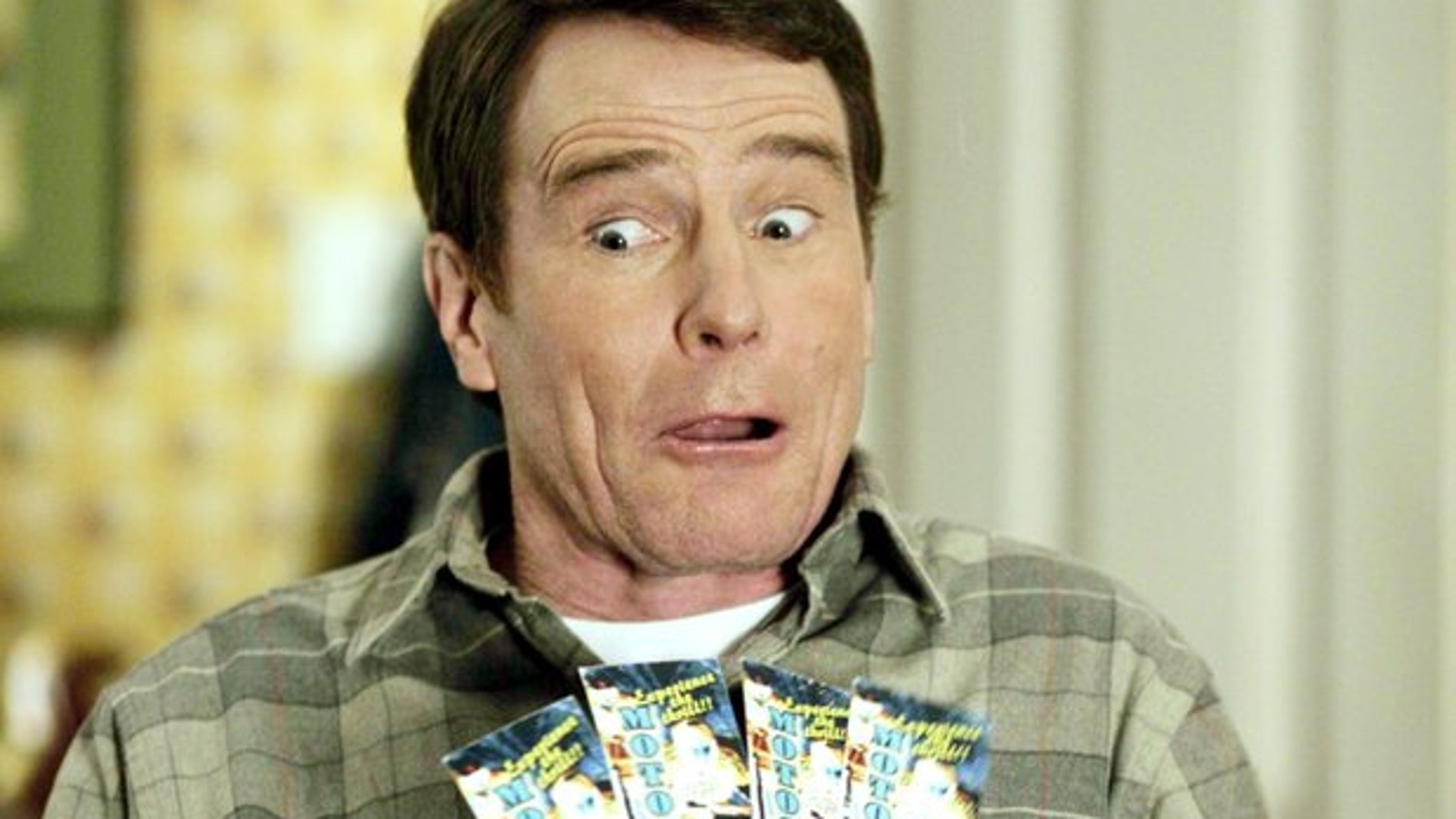 Bryan Cranston en 'Malcolm in the middle'
