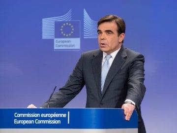 El portavoz de la Comisión Europea, Margaritis Schinas