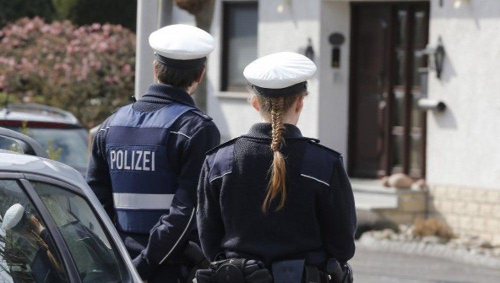 Policía alemana en una imagen de archivo