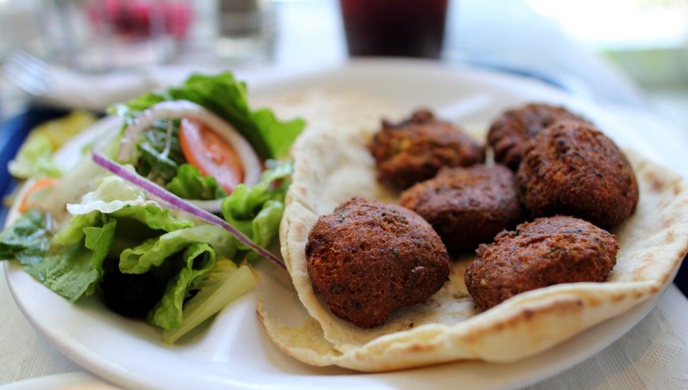 Al rico falafel... y alguna cosa más.