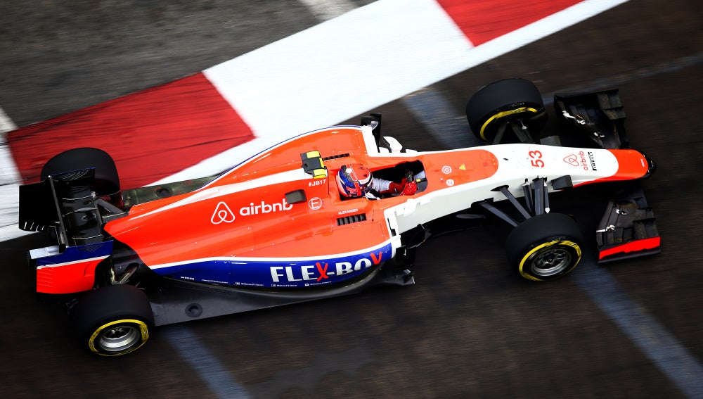 Rossi conduce el Manor