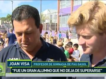 Joan Visa, profesor de Pau Gasol