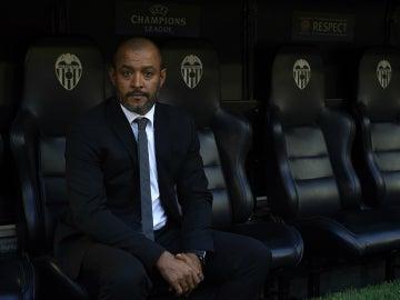 Nuno, en el banquillo del Valencia