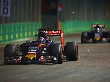 Verstappen, por delante de Sainz