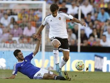 Andre Gomes, durante el partido contra el Betis