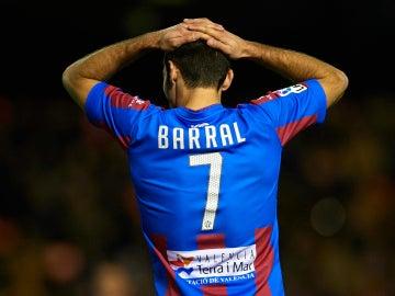David Barral, jugando con el Levante