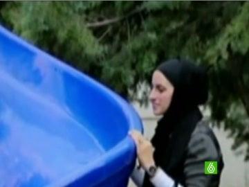 "Niloufar Ardalan, apodada ""Lady Goal"""