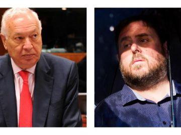 José Manuel García-Margallo y Oriol Junqueras