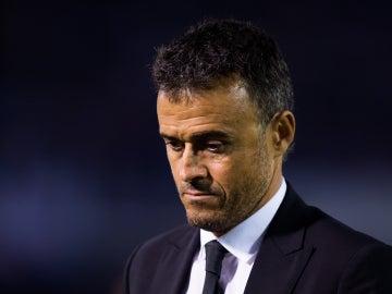 El entrenador del Barcelona Luis Enrique Martínez