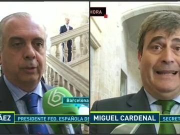 Pepe Sáez y Miguel Cardenal