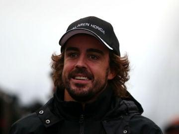 Fernando Alonso, en Suzuka