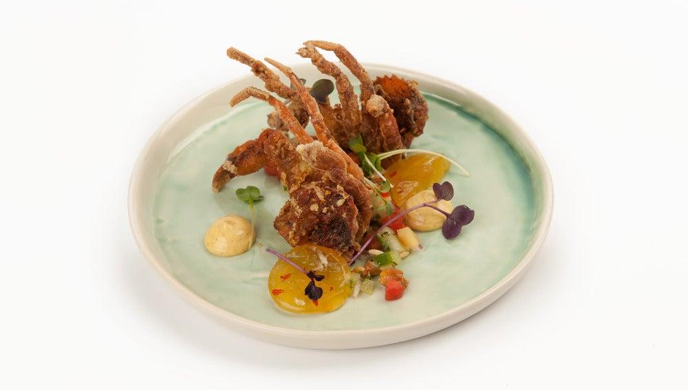 Benares, alta cocina india en Madrid.
