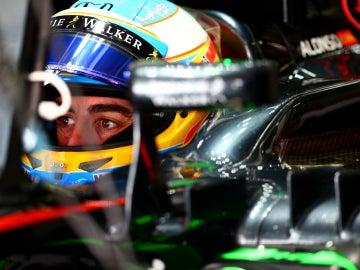 Alonso, en su McLaren
