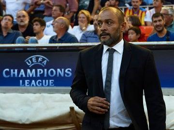 Nuno Espirito Santo, durante un partido de Champions League