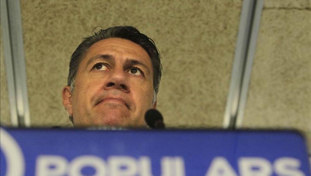 García Albiol en un mítin