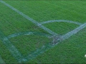 Frame 29.573503 de: El Malmö recorta el campo de juego para recibir al Real Madrid