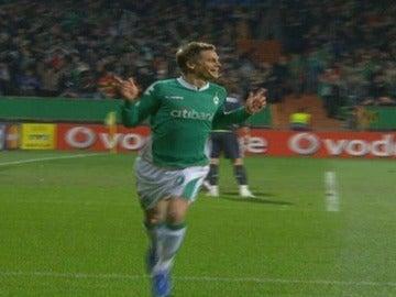 Rosenberg, en su época en el Werder Bremen