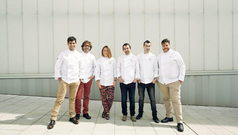 Los cocineros participantes en The Table By.