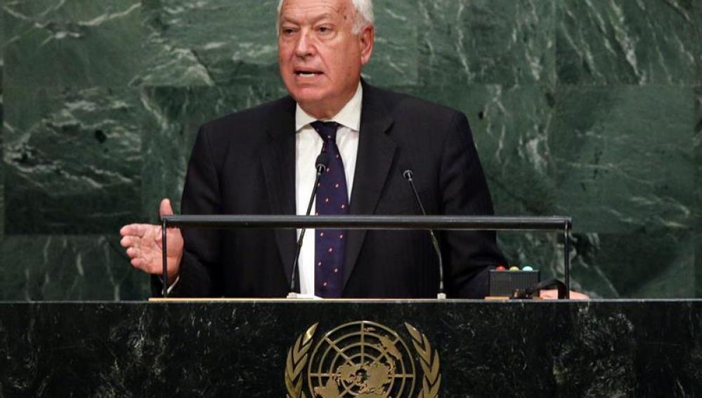El ministro de Asuntos Exteriores, José Manuel García Margallo