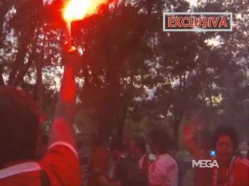 El Chiringuito se cuela entre los ultras del Benfica