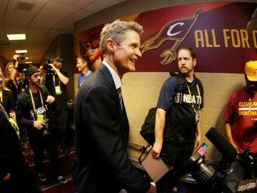 Steve Kerr, tras ganar el campeonato de la NBA
