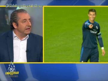 """Josep Pedrerol: """"Guste o no, Cristiano se muestra siempre como es"""""""