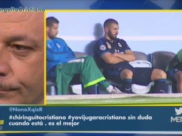"""Frame 91.960437 de: Frederic Hermel: """"Benzema está enfadado"""""""