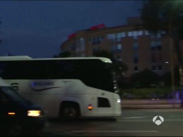 Autobús de Serbia el Albania