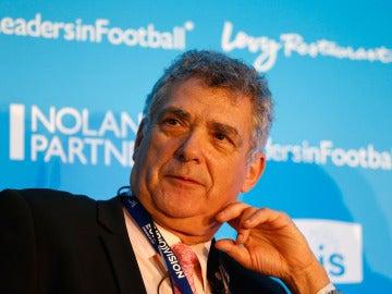 Ángel María Villar durante un evento