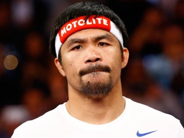 Manny Pacquiao, antes del combate frente a Mayweather