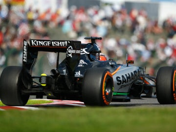 Hulkenberg rueda con su Force India